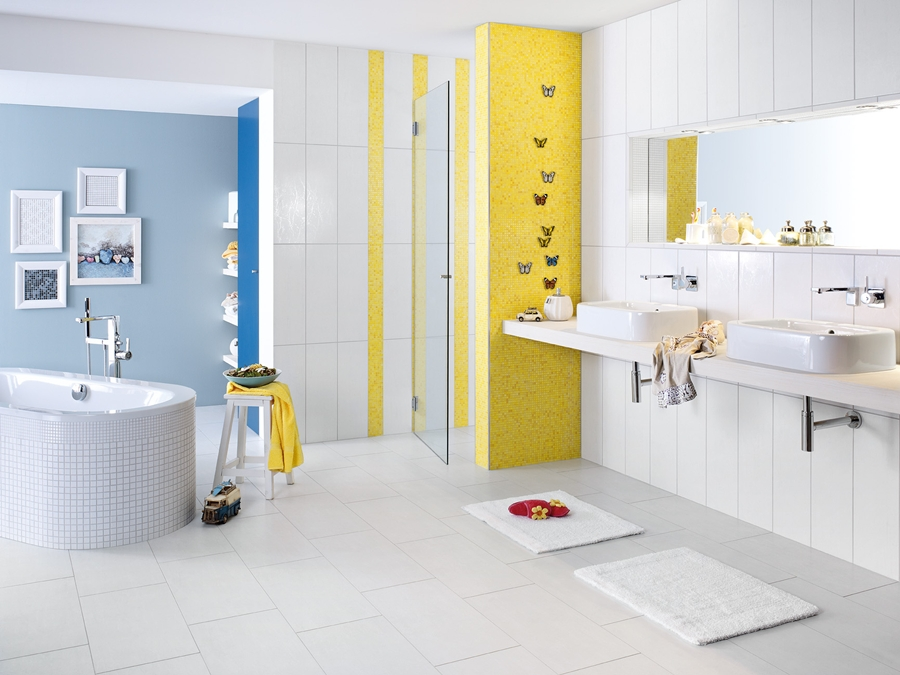 Arnold weber badezimmer fliesen for Wandgestaltung bad
